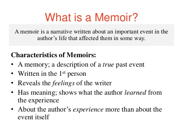 Autobiography vs biography essay